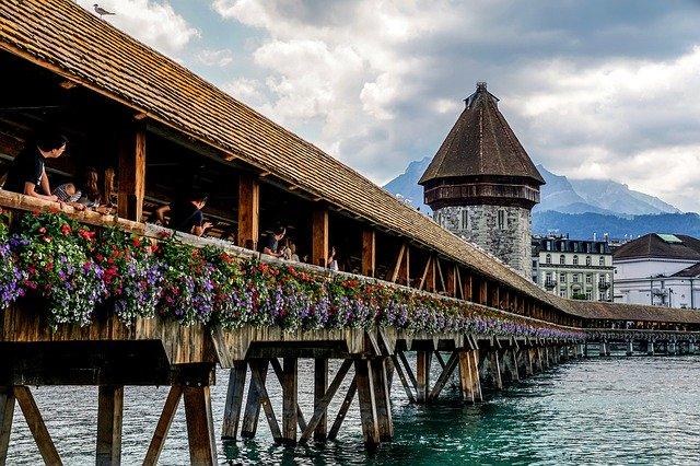 Bridge in Lucerne