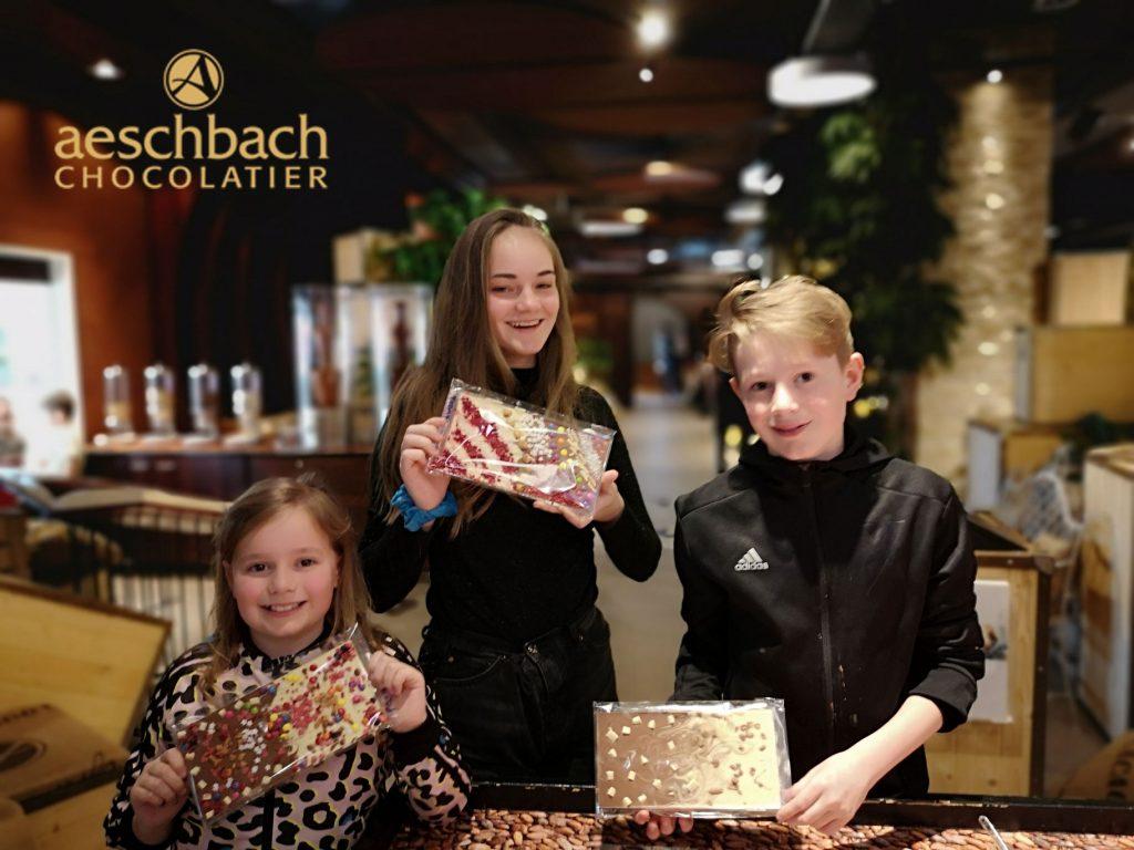 Swiss chocolate tour at Aeschbach, Switzerland